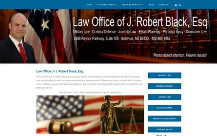 J Robert Black Law