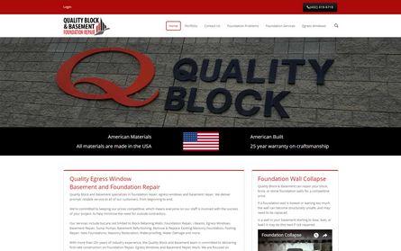 Quality Block and Basement